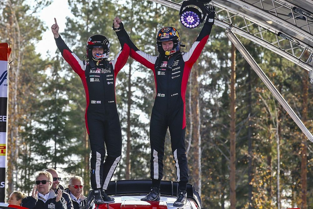 Evans rates performance to win Rally Finland his best yet in WRC