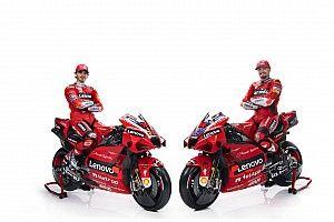 ドゥカティ、2021年MotoGP体制を発表。ミラー&バニャイヤ駆るGP21を公開