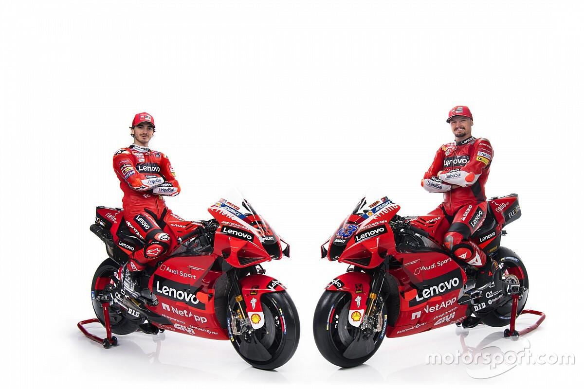 Ducati Rilis Skuad MotoGP 2021