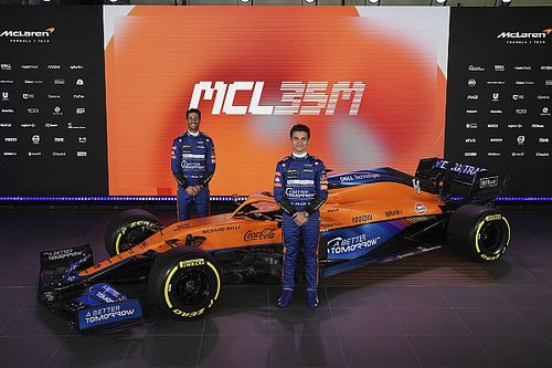 McLaren, 2021 F1 aracı MCL35M'i tanıttı!