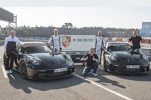 La nuova Porsche 911 GT3 fa subito il record al Nurburgring (VIDEO)