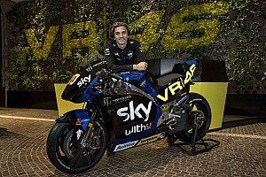 来季MotoGP昇格のルカ・マリーニ、マシンは馴染みのVR46カラーに