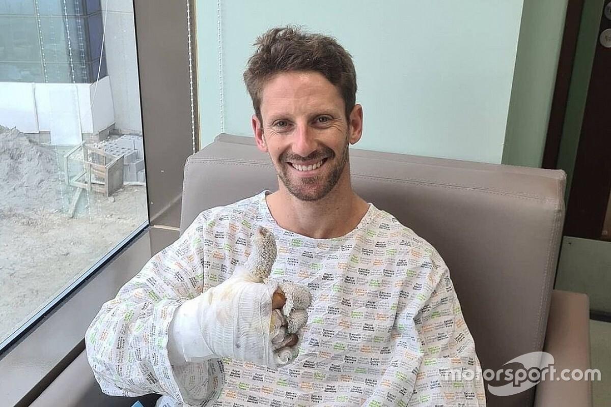 "Steiner: ""Grosjean vuole tornare a correre ad Abu Dhabi"""