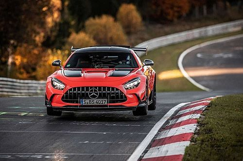 Mercedes-Benz AMG GT Black Series установил новый рекорд «Нюрбургинга»