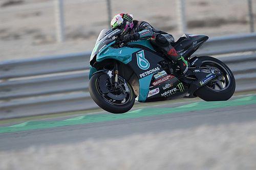 Morbidelli manda en la 1° práctica para el GP de Qatar