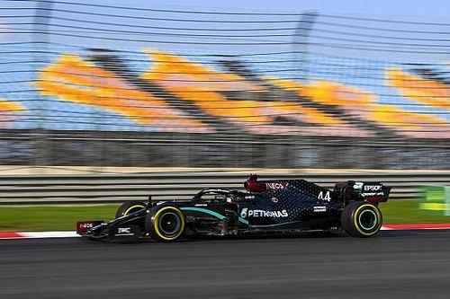 """F1: Hamilton chama pista do GP da Turquia de 'aterrorizante': """"Parece uma superfície de gelo"""""""