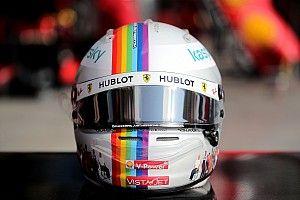 """Fotostrecke: Sebastian Vettels Helmdesign """"Together As One"""""""