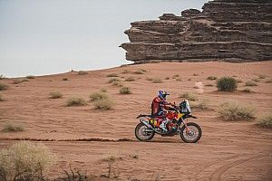 Dakar 2021, Stage 11: Sunderland slashes Benavides' lead