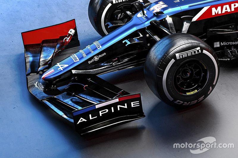 The tweaks hidden inside Alpine's new A521 F1 car