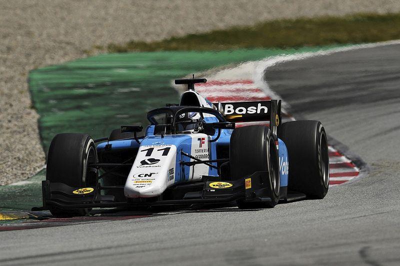 Verschoor topt tijdenlijst bij Formule 2-test, Viscaal op P5