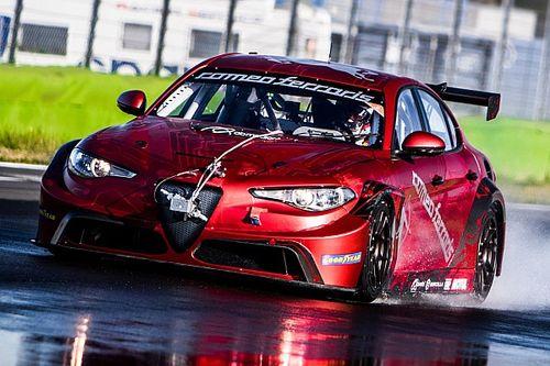 L'Alfa Romeo Giulia ETCR a pris la piste