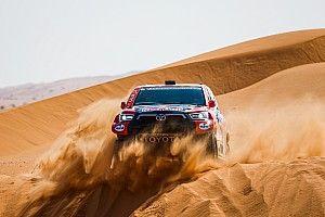 Autos, Étape 11 - Al-Attiyah ne fait pas plier Peterhansel