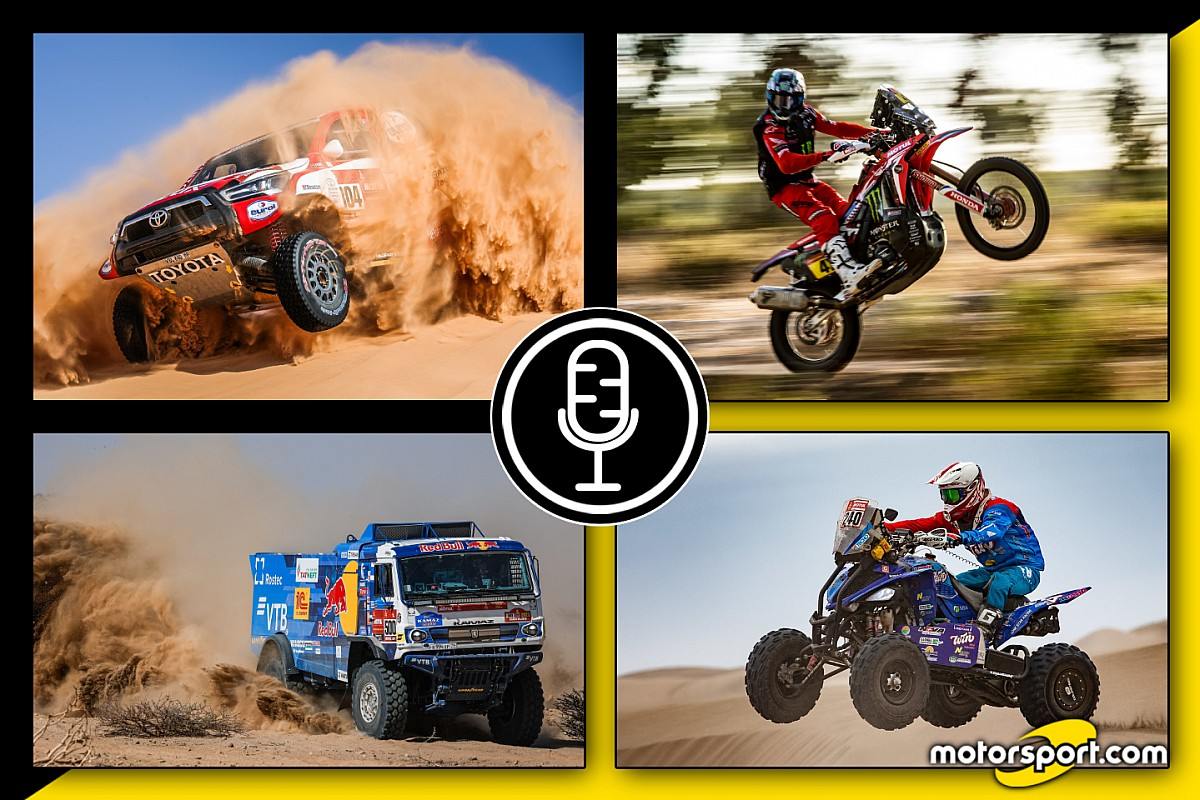 "Podcast Dakar: ""Dune Mosse"" - Tappa 5"