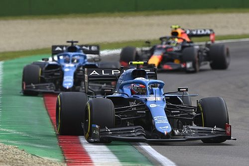 Alonso impressed by 'dedicated' Ocon as new Alpine F1 team-mate