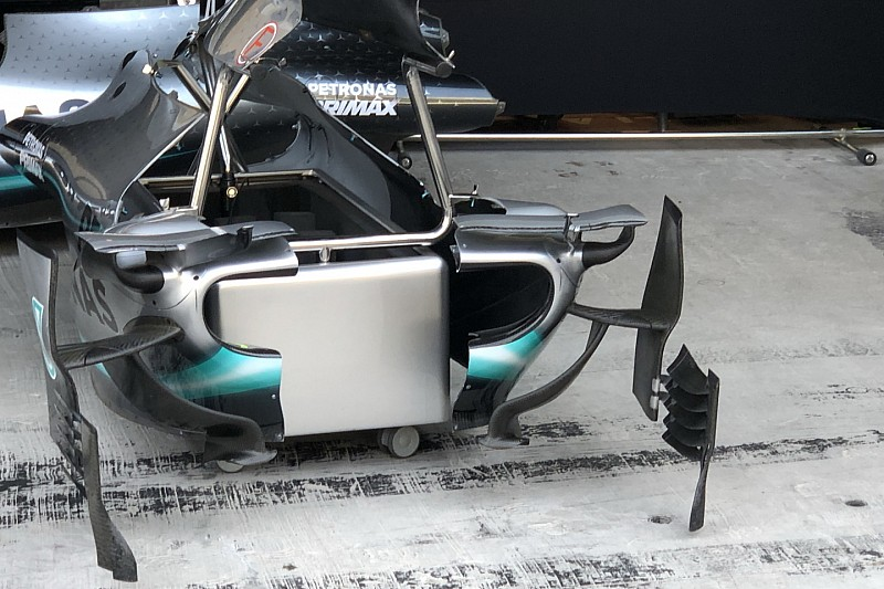 Fotos: los detalles de los F1 para la última carrera de 2019
