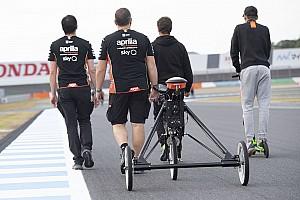 Aprilia pesca ingenieros en McLaren para su equipo de MotoGP