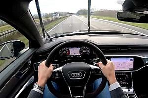Videó: 280 km/h fölött az Audi RS6 Avant egy nyirkos német autópályán