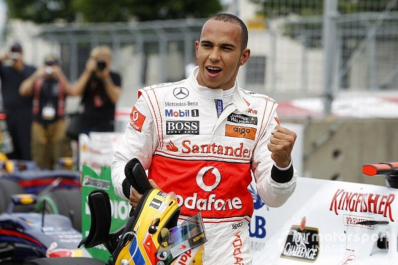 Gallery: Alle F1-zeges van Lewis Hamilton