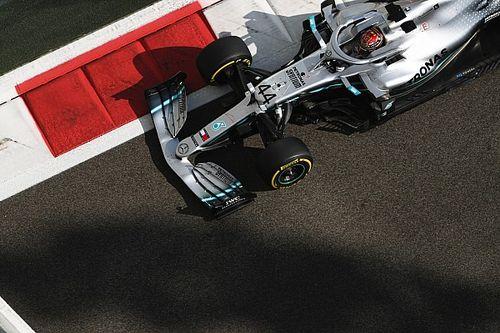 Hamilton supera Verstappen e faz pole no GP de Abu Dhabi