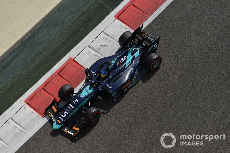 Abu Dhabi F2: Sette Camara tops red-flagged practice