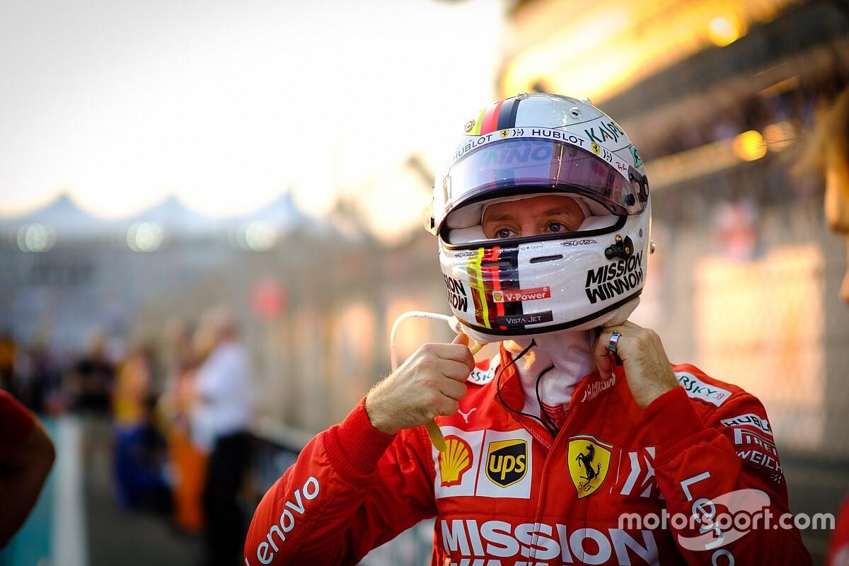 El enigmático mensaje de Vettel en su separación de Ferrari