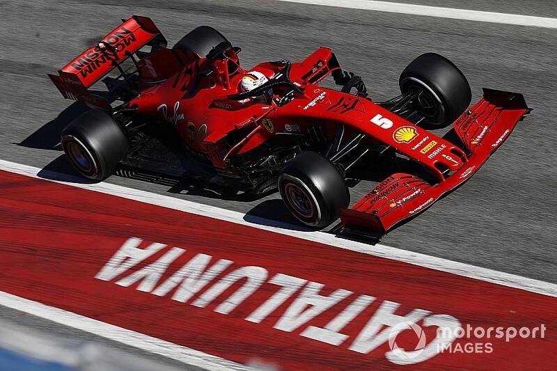 Ferrari: a Barcellona nuove ali e diverso cofano motore