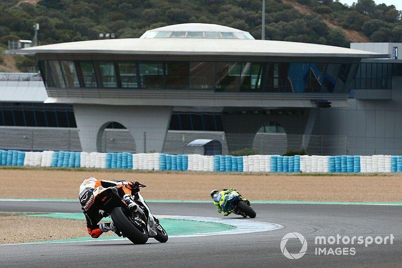 Galería: el primer test oficial del año de Moto2 y Moto3
