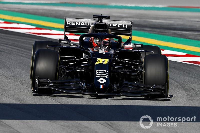 Foto's: De eerste dag van de Formule 1-test in beeld