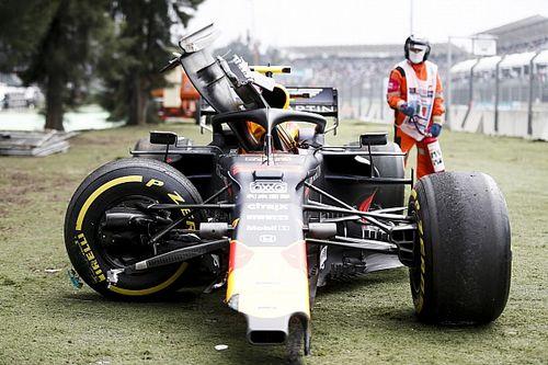 """Red Bull """"un peu à court de pièces"""" après le crash d'Albon"""