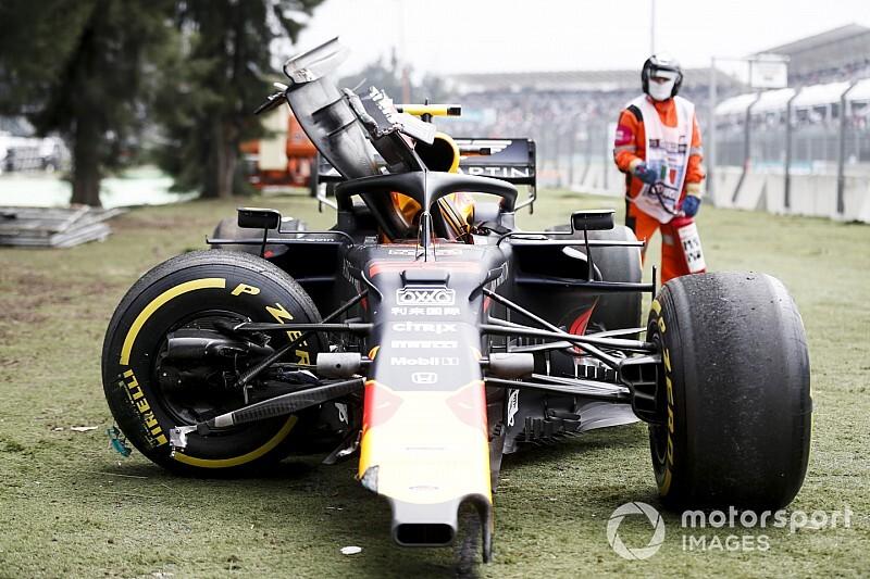 """Albon: """"Recente crashes niet door druk van Verstappen"""""""