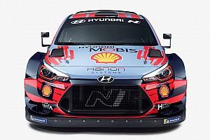 Photos - Hyundai présente la i20 Coupe WRC pour 2020