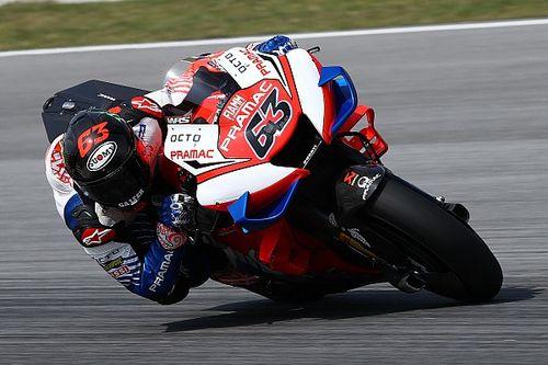 "Bagnaia: ""Moto totalmente diversa, grande step di Ducati"""