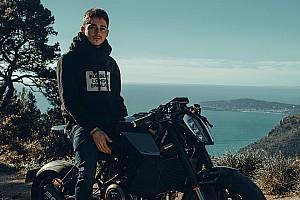 Une moto réalisée sur mesure pour Charles Leclerc