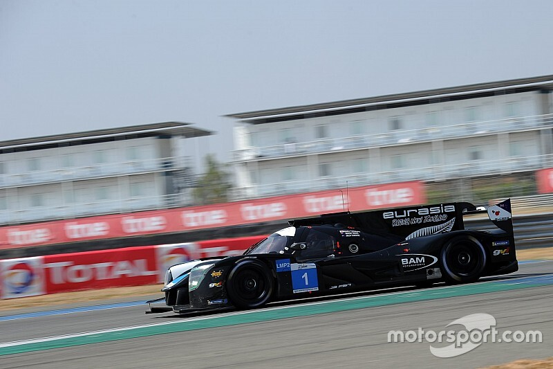 Cassidy to make WEC debut for Eurasia LMP2 squad