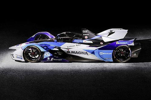 BMW i Andretti showt nieuwe Formule E-auto voor seizoen 2019-2020
