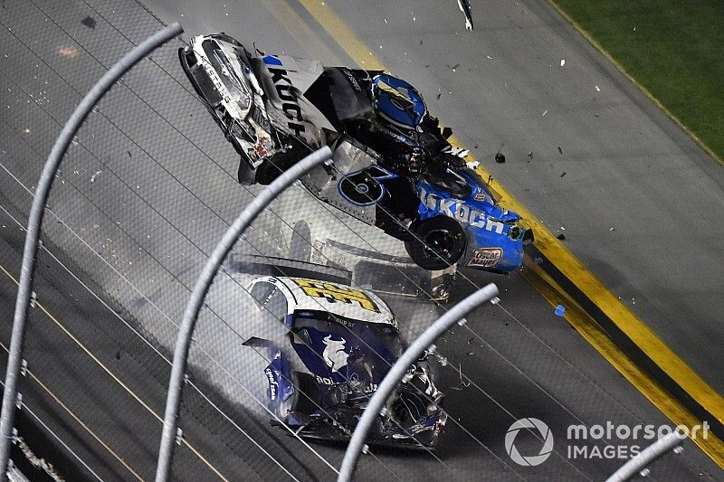 """NASCAR's Steve O'Donnell on safety: """"We are never satisfied"""""""