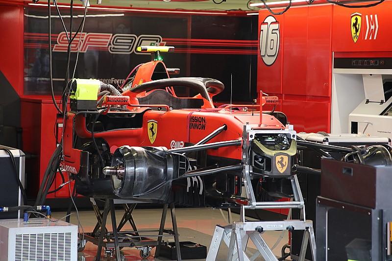 Szétszedték Leclerc autóját, de nincs miért aggódni
