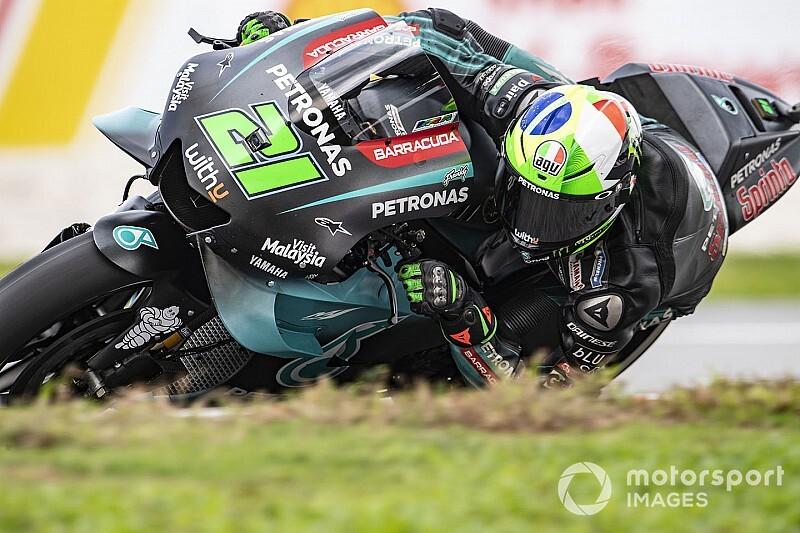 MotoGP, Sepang, Libere 3: Morbidelli risponde a Quartararo