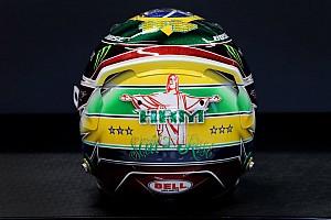 F1: Hamilton homenageia 'Superman' Senna no capacete; veja fotos