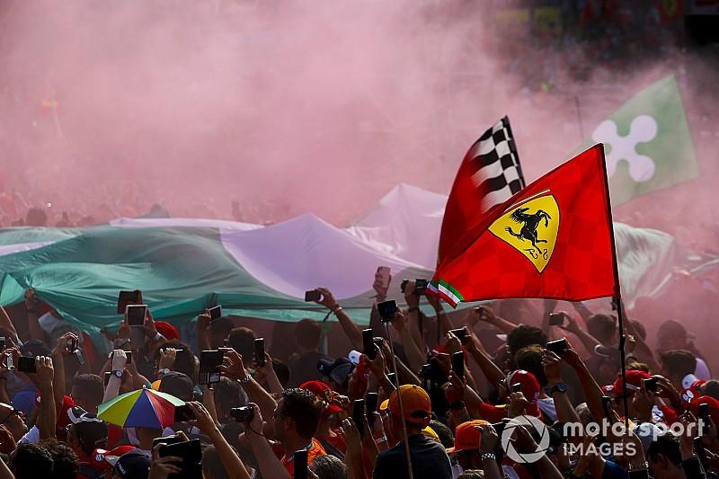 Las mejores fotos del emocionante GP de Italia