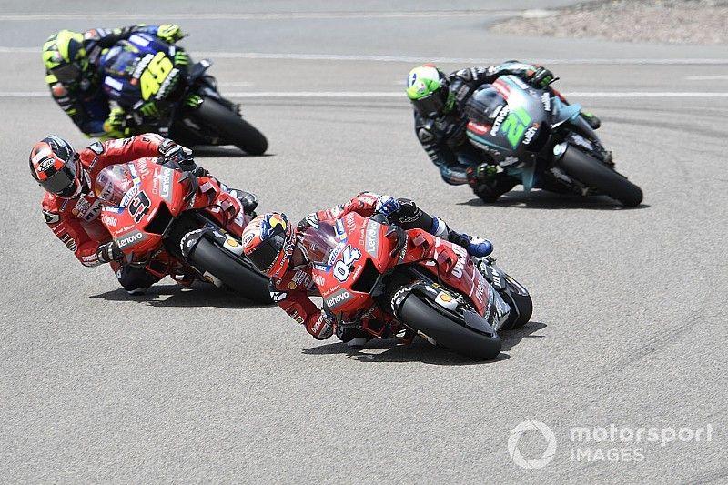 MotoGP anuncia modificaciones en el reglamento aerodinámico