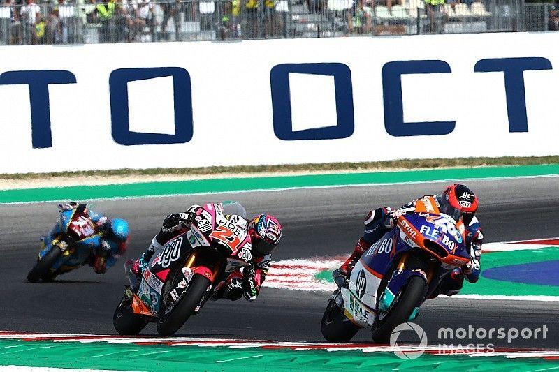 Di Giannantonio hits out at Moto2 stewards' call