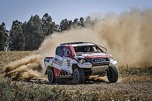 Alonso finishes 16th on eventful rally-raid debut