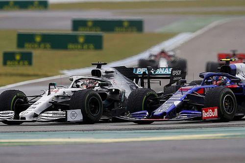 Alex Albon ne voulait pas s'attaquer à Lewis Hamilton