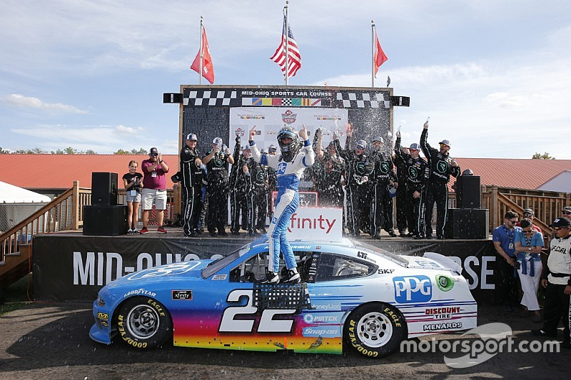 Austin Cindric takes dominant Xfinity win at Mid-Ohio