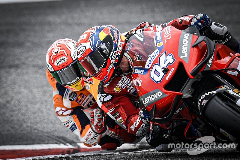 Photos - Le sensationnel duel Dovizioso-Márquez en Autriche