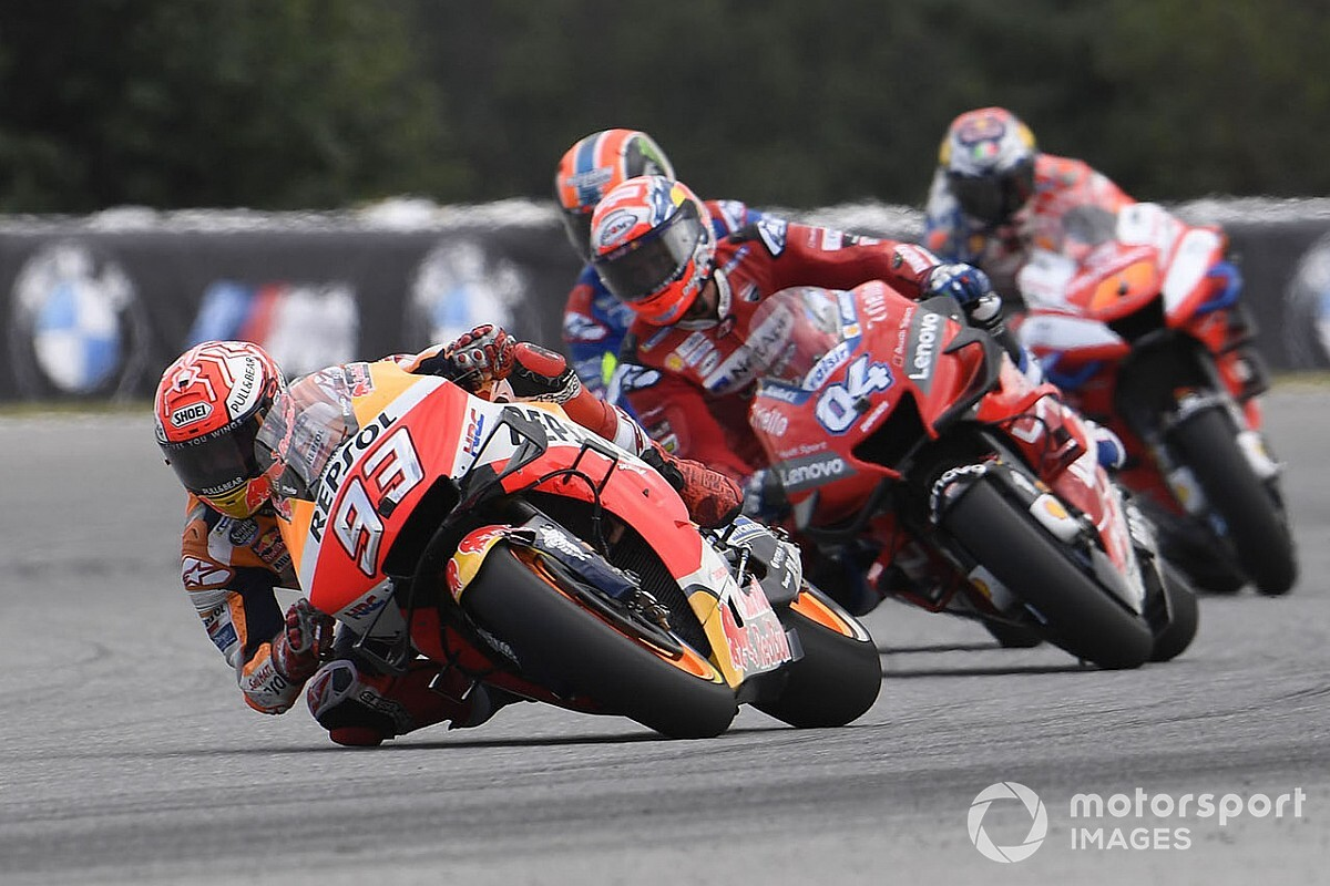 La MotoGP lavora ad un calendario tutto in Europa