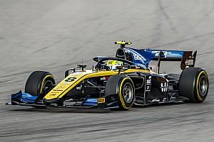 Luca Ghiotto vence en una carrera con susto