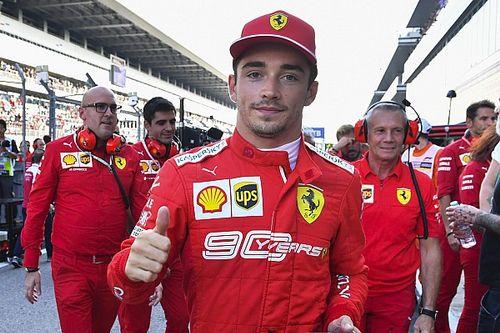 Leclerc iguala marca de Schumacher na Ferrari, mas admite: 'F... tudo no último setor'