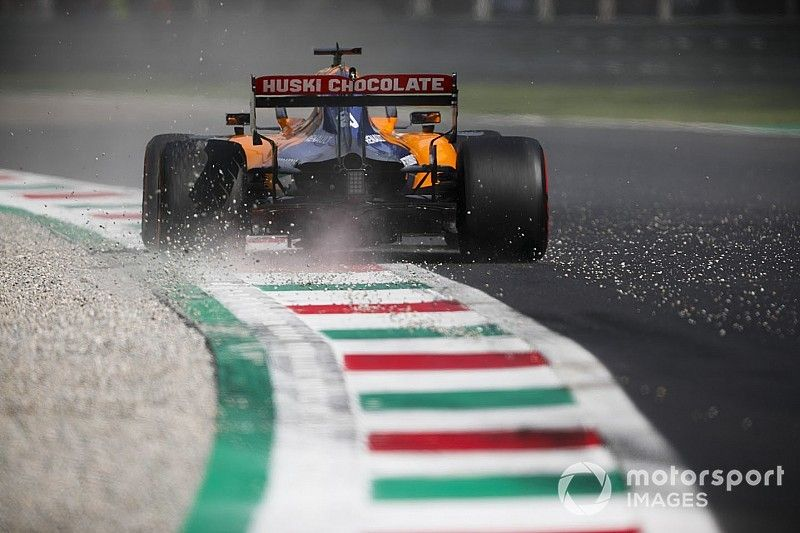 Sainz respalda a McLaren tras un costoso error en Monza